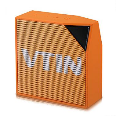VTIN Cuber Haut-parleur/Enceinte Portable Bluetooth 4.0 d'Ext?rieur Waterproof avec 5W Drive Audio Puissant IP67 R?sistant ? l'eau et ? la poussi?re(Noir @ Amazon.fr