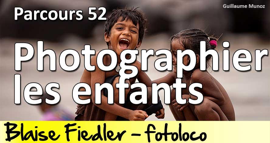 Prendre des photos d'enfants