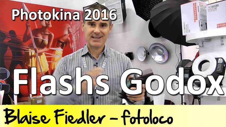Flashs Godox au Photokina 2016 TT600, TT685, V850 II et V860 II