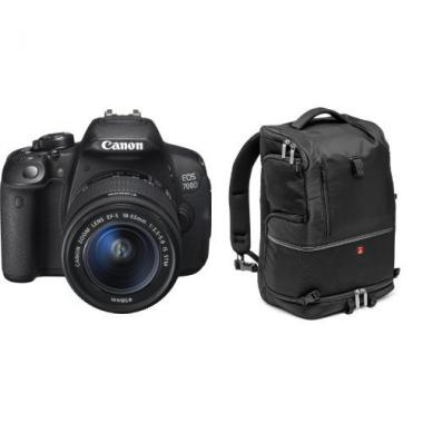 Canon EOS 700D + Backpack Manfrotto + Objectif 18-55 mm @ Amazon.fr