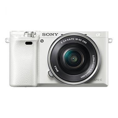 Sony ILC-E6000 Appareil Photo Numerique Hybride objectif 16-50 mm Blanc @ Amazon.fr