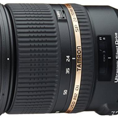 Tamron Objectif SP 24-70 mm F/2,8 Di VC USD - Monture Canon/Nikon @ Amazon.fr
