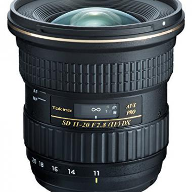 Tokina 11-20 mm / F 2,8 AT-X PRO DX Objectifs 11 mm Nikon @ Amazon.fr