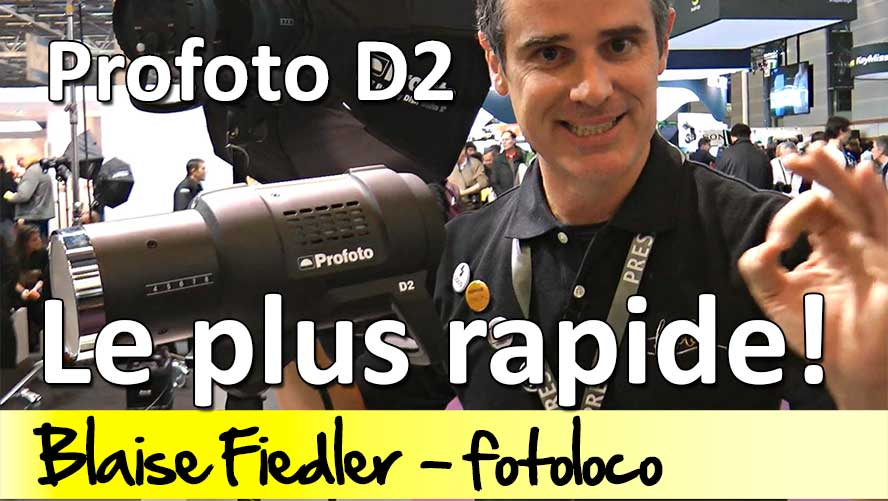 Profoto D2 flash