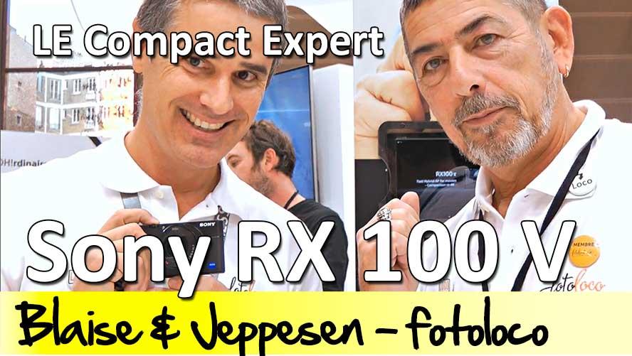 Sony RX 100 V test