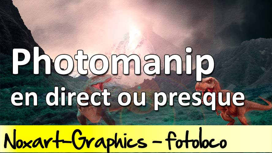 Manipulation photos sous photoshop