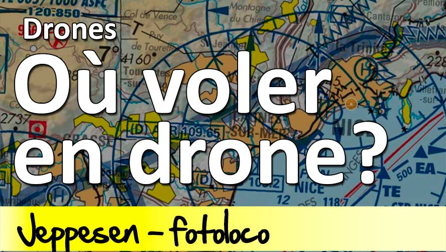 où peut on voler en drone en France