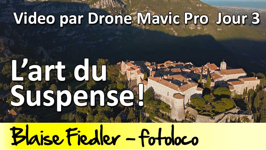 video drone dji mavic pro art du suspense filmer drone