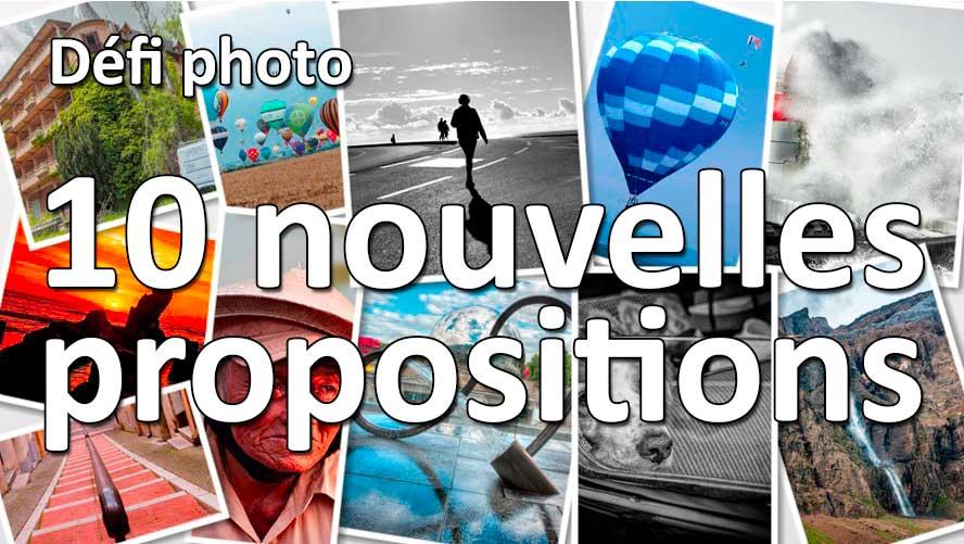 10 nouveaux défis photos