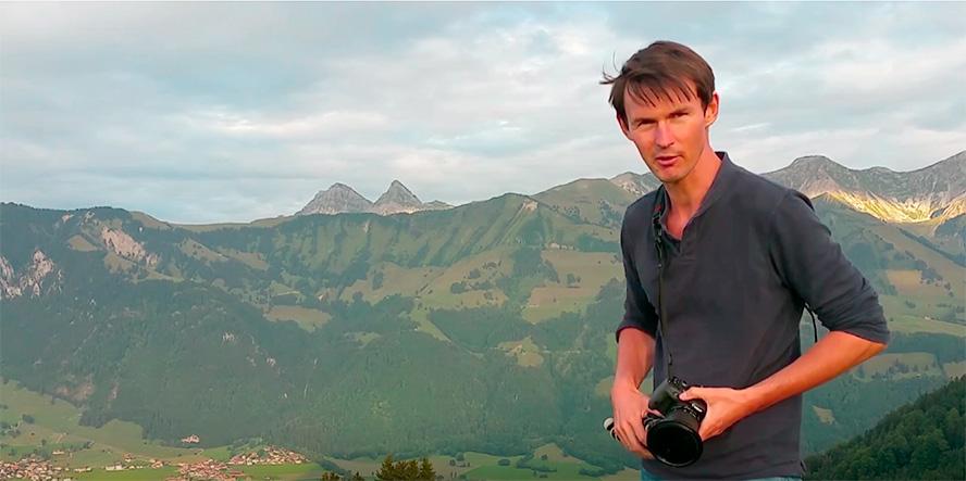 promenade photo en montagne