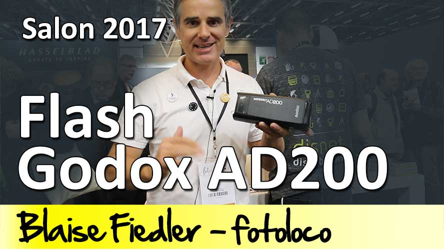 Godox Wistro AD200 flash et mag mod