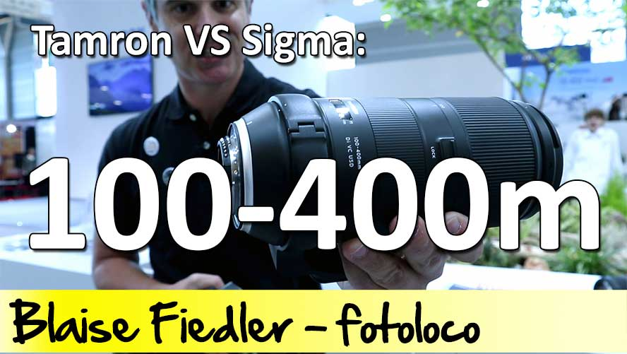100-400mm objectif Tamron Sigma