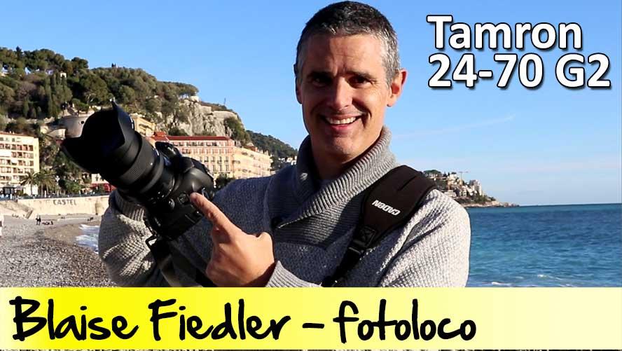 Tamron 24-70 g2 objectif photo test revue essai prise en main