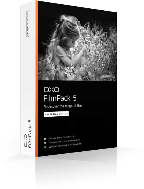 DXO Film Pack 5 Gratuit!