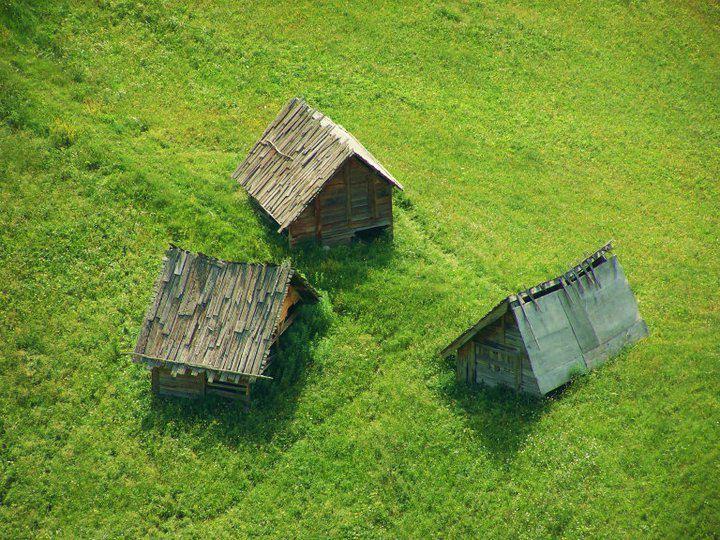 Concours Photo - Vert - Les cabanes du Bossu par Schram