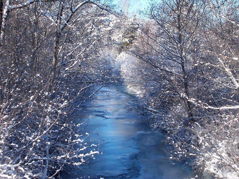 Concours Photo - Neige - Riviere en hiver par domi_colombani