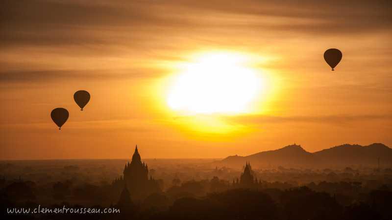 Concours Photo - Le Soleil - Sunrise in Bagan par keklaquoi