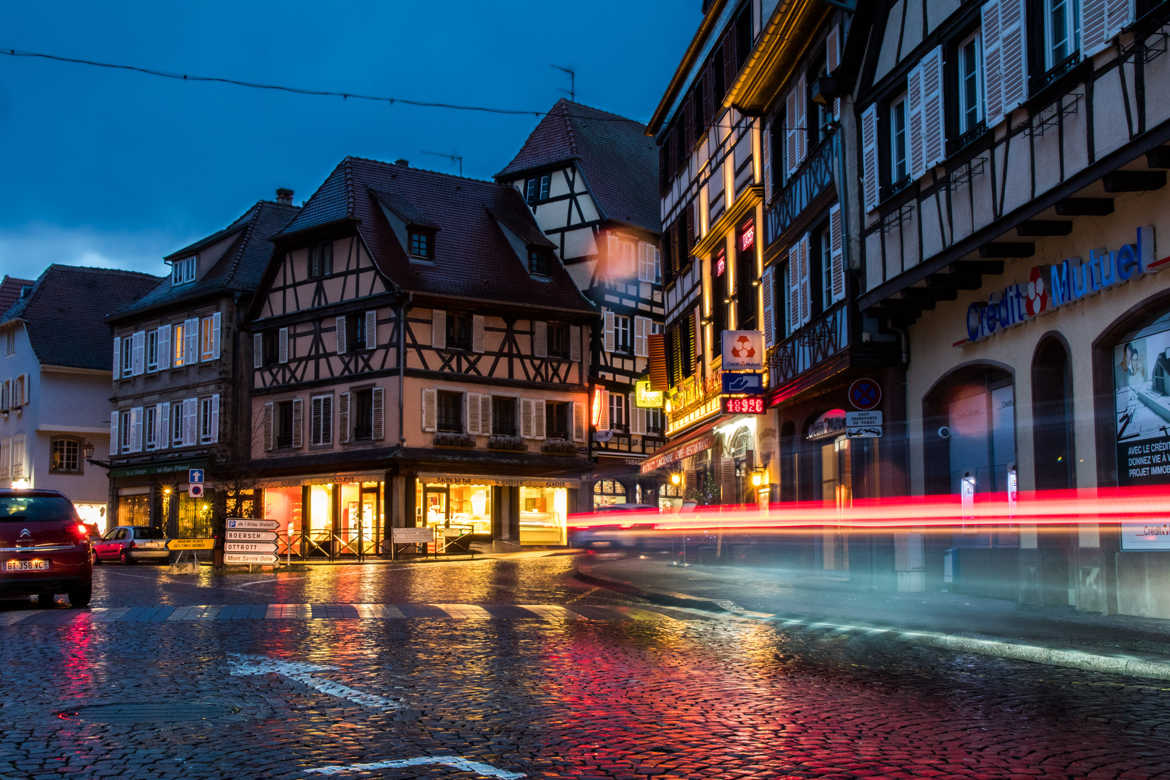 Obernai by night