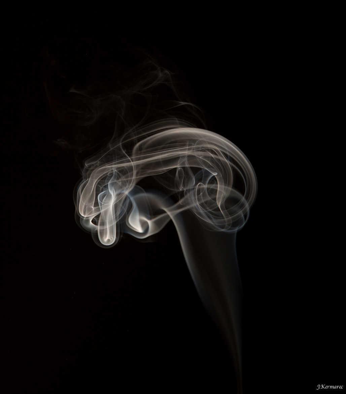 Concours Photo - Fumée - Ca fume dans mon cerveau par kermarec