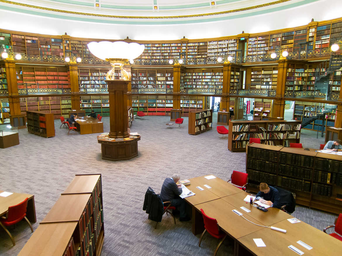 Liverpool, national library