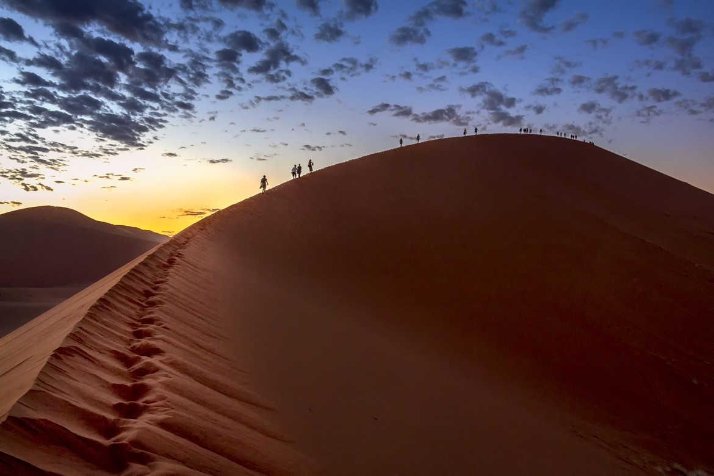 Lever de Soliel sur la Dune 45