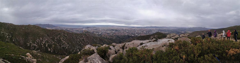 randonnée dans le massif du mont Saint Cyr