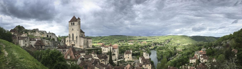Panorama orageux