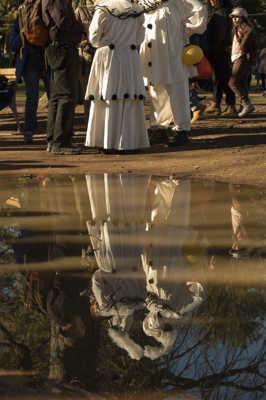reflet Pierrot et Colombine