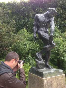 Visite au musée Rodin