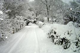 neige sur l'Oise