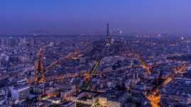 Heure bleue à Paris