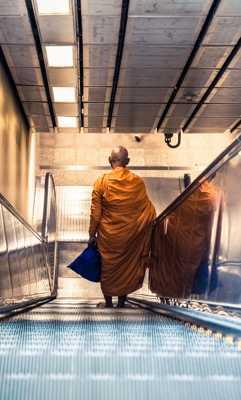 Monk solitude