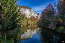 vallée du Déssoubre l'automne