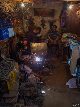 Atelier marocain au plein coeur de la Medina