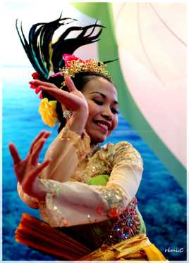 danseuse indonésienne
