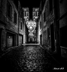 Vers la cathédrale