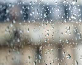 La pluie de l'interieur