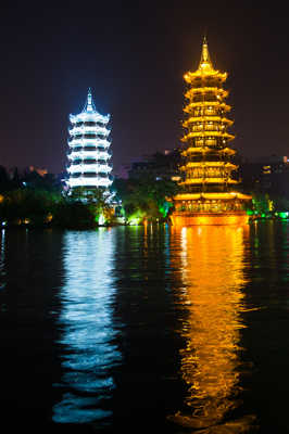 La pagode d'or et d'argent