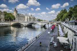 Des berges de la Seine.....