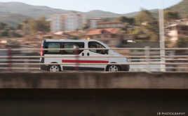 Ambulance en route