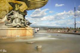Au pied de la fontaine...