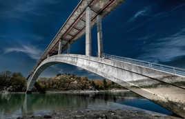 Le pont de la riviere Rance