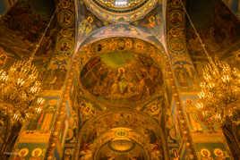 Mosaiques de la Basilique du sang versé, Saint Petersbourg