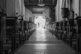 Sortie d'église