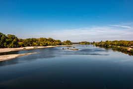 La Loire vue du Canal de BRIARE