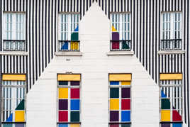 Galerie Aveline - By D. Buren