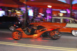 un soir a Ocean Drive, Miami Beach,
