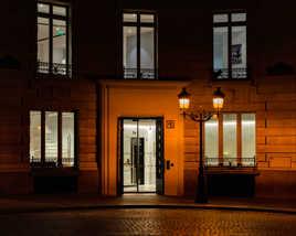 Eclairage nocturne de ville