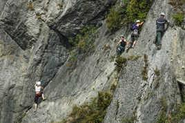 Les alpinistes du dimanche