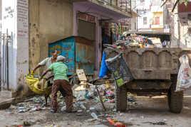 Le ramassage des déchets en Inde